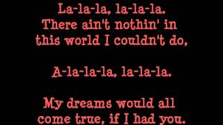 Bobby Sherman~La La La lyrics