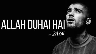 Zayn - Allah Duhai Hai (Cover) [Full HD] lyrics - YouTube