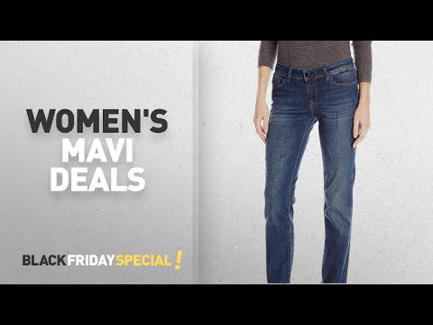 Black Friday Women's Mavi Deals: Mavi Jeans Women's Emma Mid Rise Slim Boyfriend