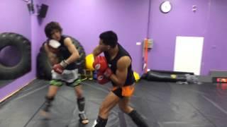 Bang Boxing 2015 Training
