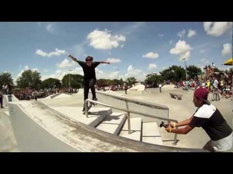Tony Hawk Park Tour in Miami, Fl @West Wind Lakes Skate Park