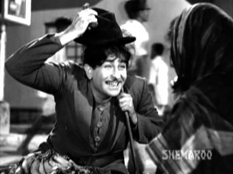 Shree 420 - Raj Kapoor - Lalita Pawar - Nargis - Innocent Raj - Best Bollywood Comedy