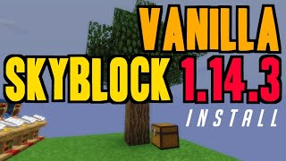 minecraft 1 14 skyblock map download - TH-Clip