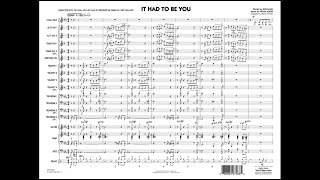 It Had to Be You arranged by Rick Stitzel
