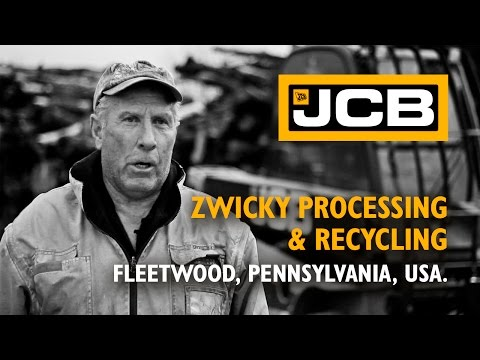 JCB Teletruk at Zwicky processing & recycling - USA