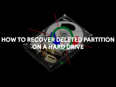 How To Recover Deleted Partition on a Hard Drive - [romshillzz]
