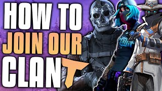 HOW to JOIN a CLAN - #TwizzRC TEAM RECRUITMENT CHALLENGE - (Call Of Duty Valorant Fortnite Warzone)