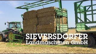 Sieversdorfer Landmaschinen - Ballentransportaufbau [BTA] HW 60/80 mit hydr. Seitenwand