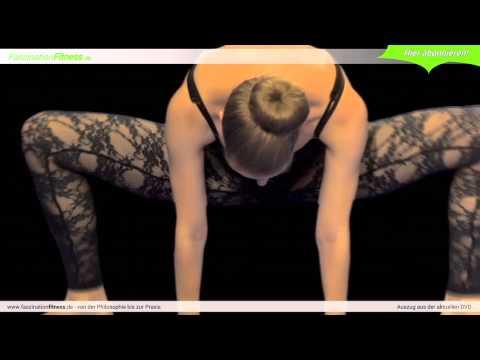 Trainingsvideos mit Osteochondrose Yoga