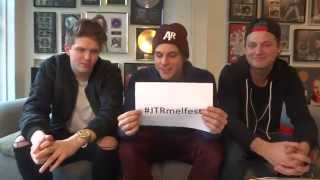 JTR greeting to French fans