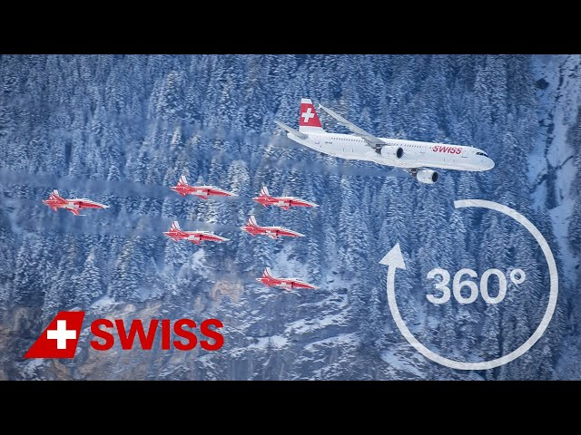 SWISS presents a 360° view of Lauberhorn | Foundry