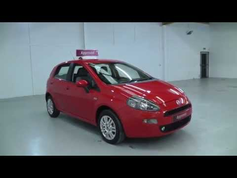 Fiat punto easy in red video walkaround