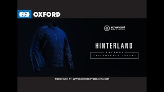 Introducing Oxford's Advanced Dry2Dry Trilaminate Jacket - Hinterland.