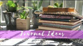 Journal Ideas (Meditation, Dreams & more!)  // Taylluna