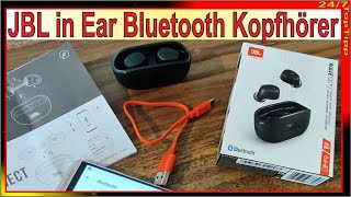 2021 ALDI Aktion ✔ JBL WAVE [ by Harmann ] in Ear Bluetooth Kopfhörer - erste Hörprobe - Earbods