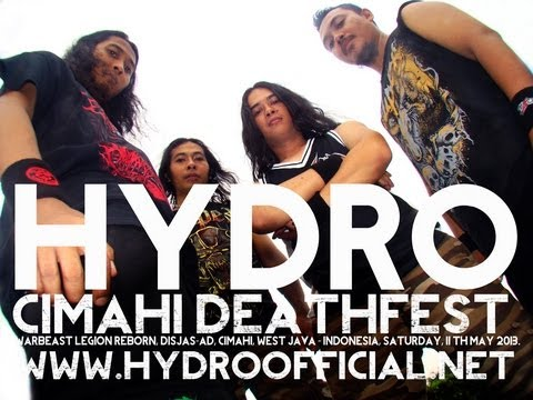 HYDRO live at Cimahi DeathFest chapter II - Warbeast legion reborn, Sunday 11th May 2013.