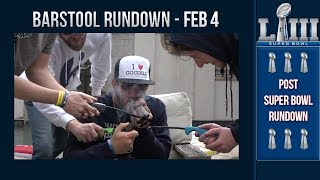 The NFL DRAGGED Dave Portnoy Out Of The Super Bowl!   Barstool Rundown   February 4, 2019