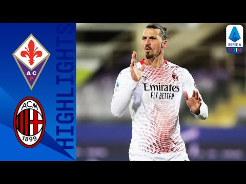 Fiorentina 2-3 Milan | Ibrahimovic Scores His 15th Goal This Season In 5-Goal THRILLER | Serie A TIM