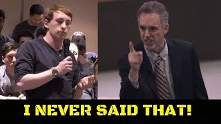 Student Tries to FRAME Jordan Peterson! INSTANTLY DISPROVEN (Lafayette University)