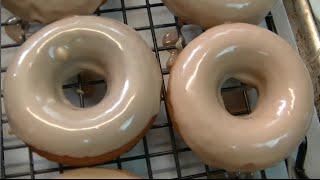 Maple  Glazed Baked Pumpkin Donuts Recipe ~ Noreens Kitchen