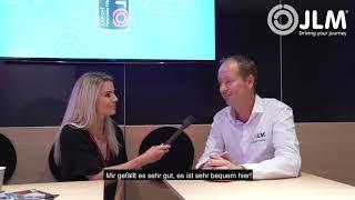 JLM Automechanika 2018 Sophia Calate Interviews Mark Hoff Best B2B Booth Design