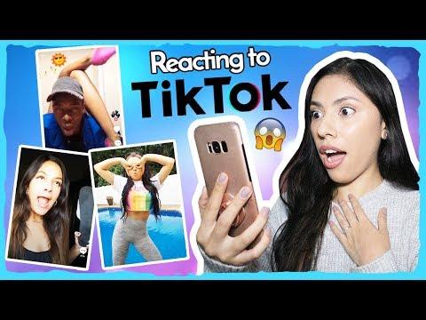 REACTING TO TIK TOK! (Musical.ly)