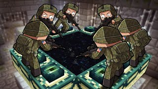 Minecraft But US Military Beats the game for you