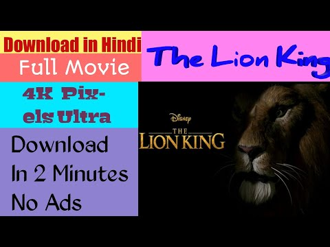 Download How To Download The Lion King Full Movie | Hindi | HD | In Hindi | 2019 | Full Movie HD Mp4 3GP Video and MP3