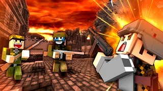minecraft ww2 - s1e1 heroes and generals roleplay - ฟรี