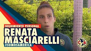 Seguimiento Renata Masciarelli - Club América Femenil