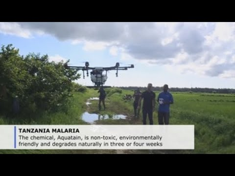 Suffocating mosquitoes: pioneering project uses drones to fight malaria