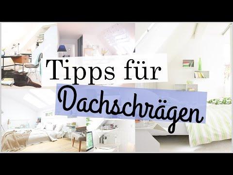 Tipps für Zimmer mit Dachschrägen  | Deco, Einrichtung, Tipps, Tricks | ♥ANNA KAISER♥