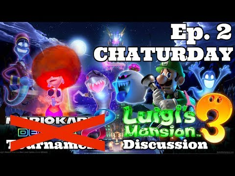 Luigi's Mansion 3 Discussion & Jackbox Party Pack! [Chaturday - Ep. 2]  - ZakPak
