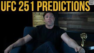 Chael Sonnen's UFC 251 Predictions