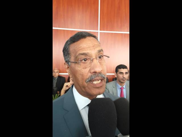 تصريح  الميلودي مخاريق الأمين العام للاتحاد المغربي للشغل عقب الندوة الصحفية للمركزيات النقابية