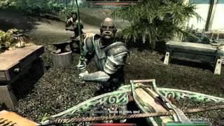 Бандиты убили хускарла!
