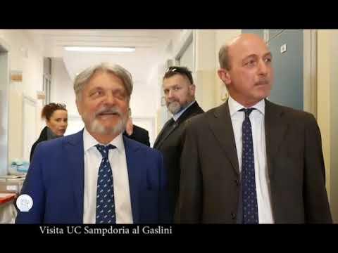 SPORT : LA SAMPDORIA VISITA IL GASLINI DI GENOVA
