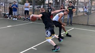 Professor Almost Loses 1v1... Nearly Breaks Ankle