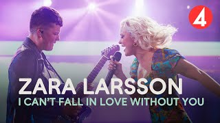 Zara Larsson - I Can't Fall In Love Without You - 4K (Late Night Concert) - TV4
