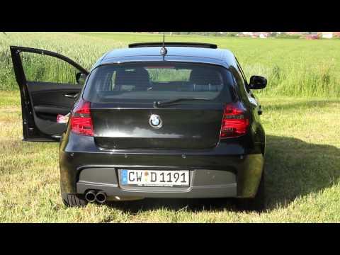 BMW E87 118i PP-Auspuff ; Performance Auspuff, PP ESD