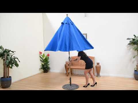 Galtech Rotational Tilt Patio Market Umbrellas