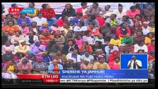 KTN Leo: Rais Uhuru Kenyatta awasihii Wakenya wadumishe amani katika uchaguzi ujao, 12/12/16