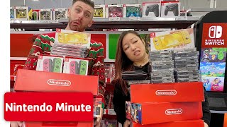 'Anything You Can Carry' Nintendo Shopping Spree CHALLENGE 🛍