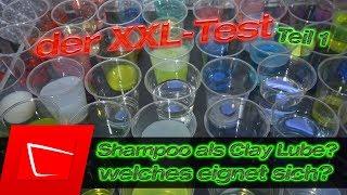 Welches Shampoo eignet sich als Clay Lube Gleitmittel? Teil 1 - Selber herstellen - Reinigungsknete