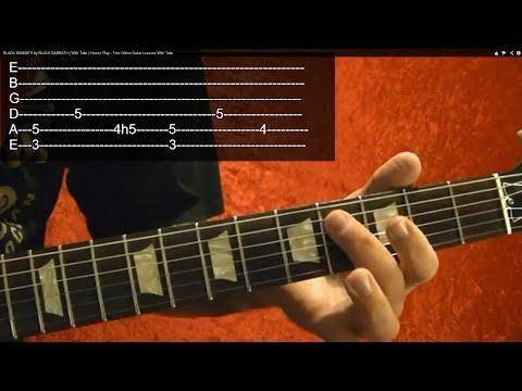METALLICA - EASY RIFF ( Intro to ONE ) - Guitar Lesson