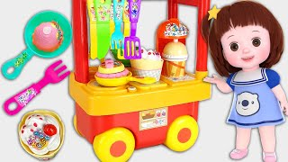 Baby Doli And Kitchen Cart Baby Doll Food Cooking Play Toys Story