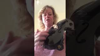 Luis and Clark carbon fibre violin vs wood