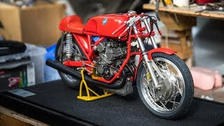 Glen English's Scratch-Built Motorcycle Replicas