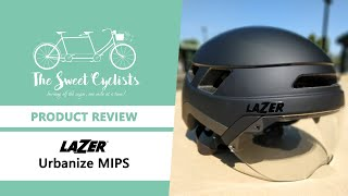 Feature Packed E-Bike / Commuter Helmet - Lazer Urbanize MIPS - feat. Removable Visor + Taillight