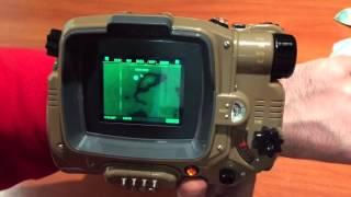 Pip-Boy Fallout 4 review con app instalada